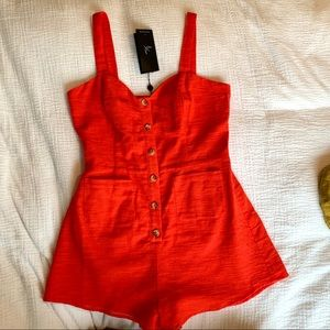 NWT The Fifth Label Romper